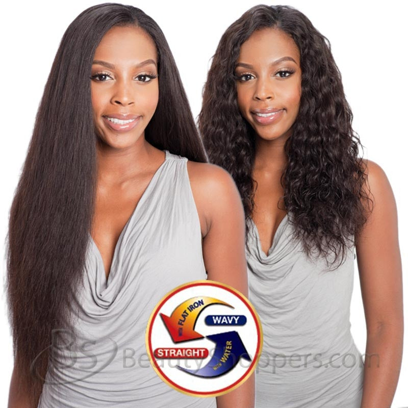 Naked Nature Unprocessed Remy Hair Weave Brazilian Loose Deep Wave