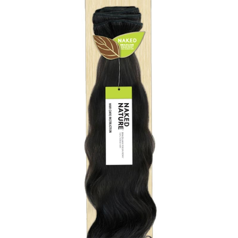 Naked Nature Unprocessed Remy Hair Weave Brazilian Remy Bundle
