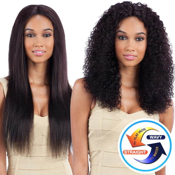 Naked Nature Unprocessed Remy Wet & Wavy Hair Weave - BOHEMIAN CURL 7PCS