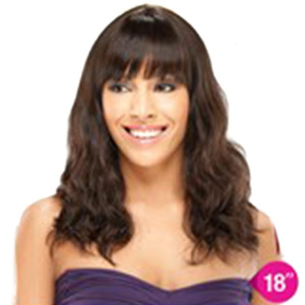 Unprocessed Naked™ Brazilian Virgin Remy Hair Wig 18""
