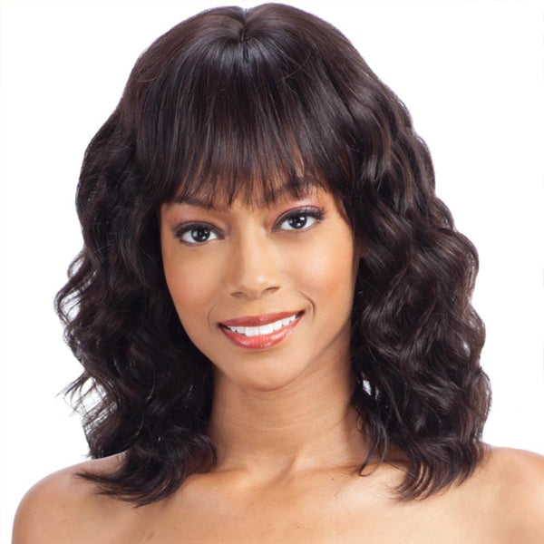 Naked Unprocessed Brazilian Hair Wig - NATURAL LOOSE DEEP