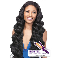 Outre Half Wig Quick Weave - MAXINE