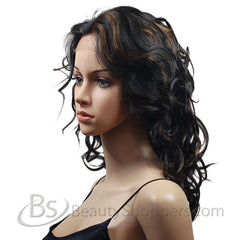 OUTRE Human Hair Lace Front Wig - SHERRY