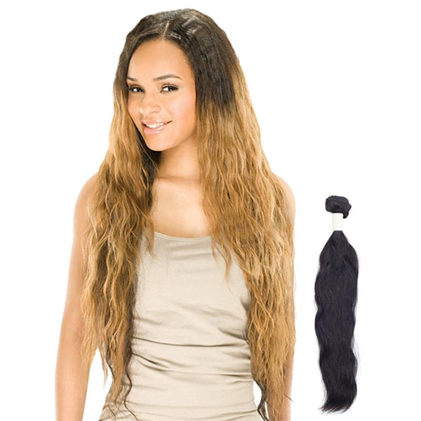 Outre Simply™ Unprocessed Brazilian Bundle Hair - NATURAL WAVE