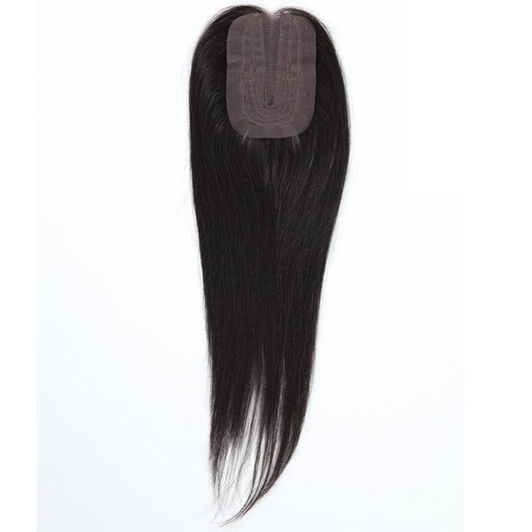 Outre Simply™ Unprocessed Brazilian Hair Piece - NATURAL STRAIGHT LACE PARTING CLOSURE 16""
