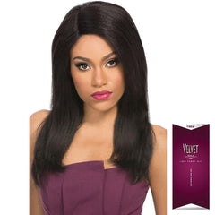 Velvet Remi Hair Lace Front Wig - NATURAL YAKI 18""