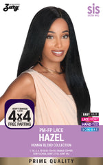 "<font color=red><b>Coming Soon!</b></font> Sis Prime Human Hair Blend 4""X4"" Swiss Lace Front Wig - HAZEL"