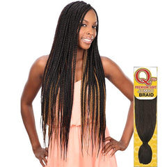 Que Premium Soft Synthetic Braid Hair - JUMBO BRAID