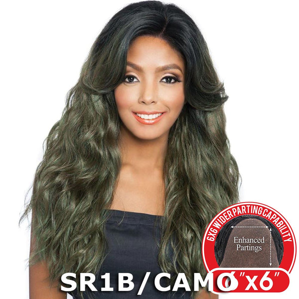 "Red Carpet Premiere 6""X6"" Wide Part Lace Wig - RCP6602 TAYLOR (24"")"