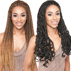 ISIS Red Carpet Premium Hair Braid Lace Front Wig - RCP730 JUSTICE BRAIDS