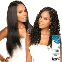 Moisture Remy Rain Indian Hair Weave - DEEP WAVE (Wet & Wavy)