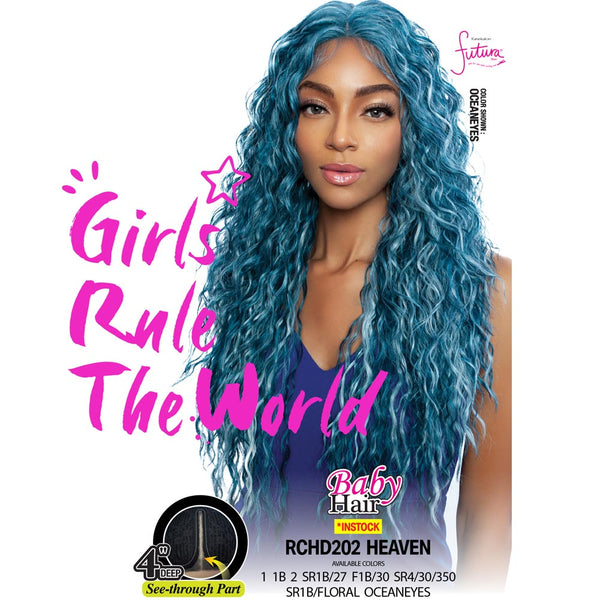 Red Carpet Premium Hair See-Through Part Lace Wig - RCHD202 HEAVEN
