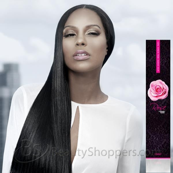 Outre Rose By Velvet Remi Human Hair Weave Yaki 10