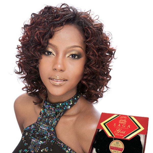 Saga Gold Remy Human Hair Weave - NEW DEEP REMY 3 PCS