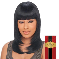 Saga Remy Human Hair Wig - HONEY