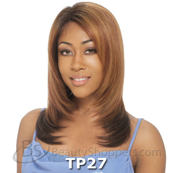 Saga Remy Human Hair Lace Front Wig - SECRET (Invisible Part)