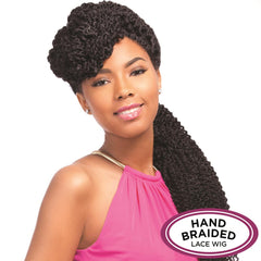 Senegal Collection Braided Lace Wig - BLUNT BRAID
