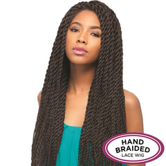 Senegal Collection Braided Lace Wig - ROPE BRAID