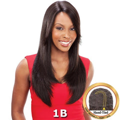 "Saga Remy Human Hair Deep Invisible ""L"" Part Wig - MUSE 25"""