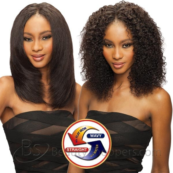 Saga Indian Remy Hair Weave - JERRY CURL 4PCS (Wet & Wavy)