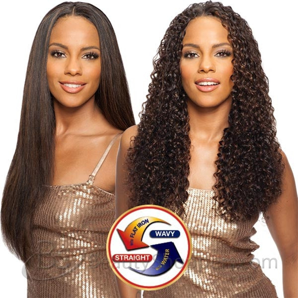 Saga Indian Remy Hair Weave - LONG DEEP 4PCS (Wet & Wavy)