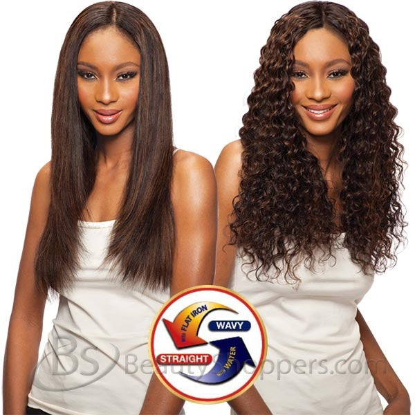 Saga Indian Remy Hair Weave - LONG LOOSE DEEP 4PCS (Wet & Wavy)