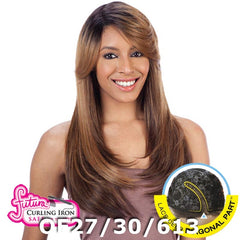 FreeTress Equal Hair Lace Deep Diagonal Part Lace Front Wig - APPLE BLOSSOM