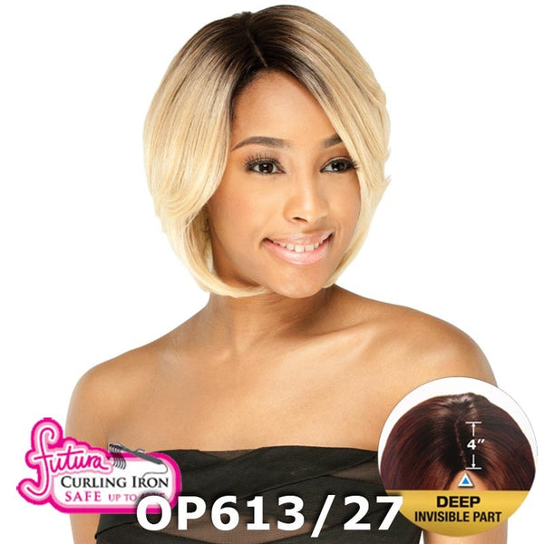 "FreeTress Equal Lace Front Wig - ASHLY (4"" Deep Invisible Part Pre-Cut Lace)"