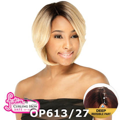 "FreeTress Equal Futura Hair Lace Front Wig - ASHLY (4"" Deep Invisible Part Pre-Cut Lace)"
