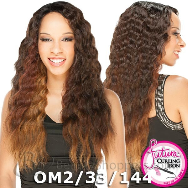 "FreeTress Equal Lace Deep Invisible ""L"" Part™ Lace Front Wig - ATALYA"