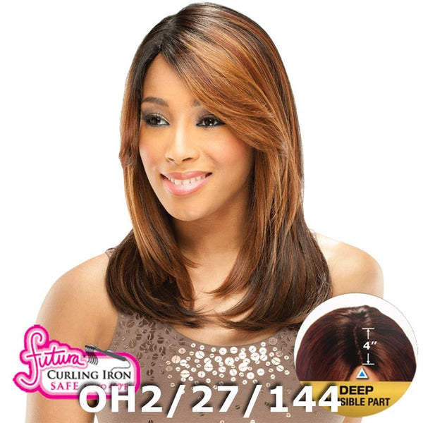 "FreeTress Equal Lace Front Wig - BAILEY (4"" Deep Invisible Part Pre-Cut Lace)"