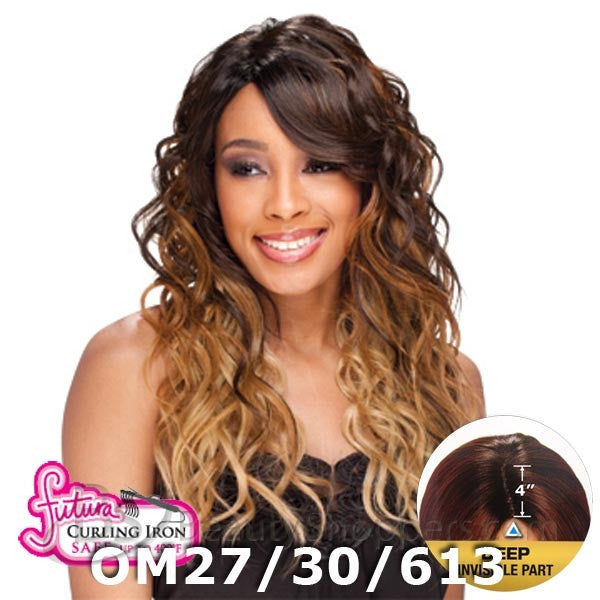 "FreeTress Equal Lace Front Wig - BENTLY (4"" Deep Invisible Part Pre-Cut Lace)"