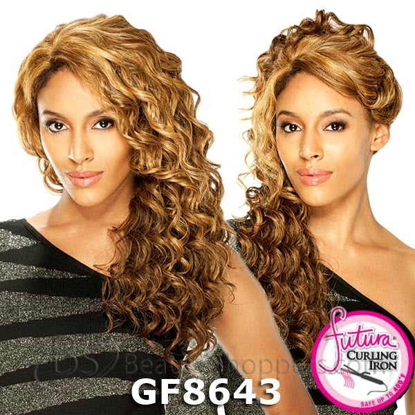 FreeTress Equal Wide Lace Front Wig - ROSE (Invisible Part Lace)