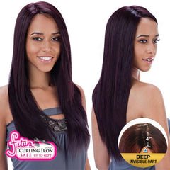 "FreeTress Equal Futura Hair Lace Front Wig - KENZIE (4"" Deep Invisible Part Pre-Cut Lace)"