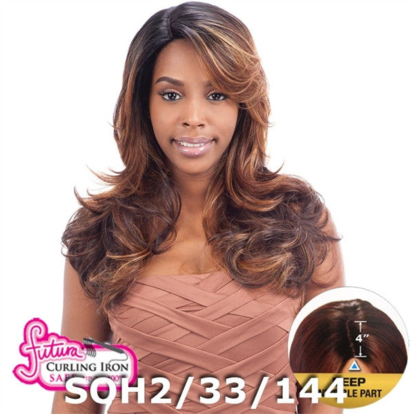 "FreeTress Equal 4"" Deep Invisible Part Lace Front Wig - KINSLEY"
