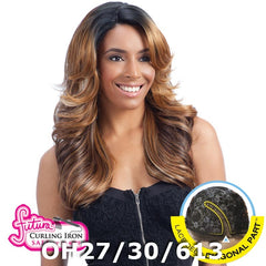 FreeTress Equal Hair Lace Deep Diagonal Part Lace Front Wig - LENA