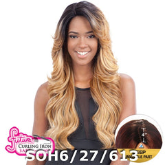 "FreeTress Equal Futura Hair Lace Front Wig - MIZZY (4"" Deep Invisible Part Pre-Cut Lace)"