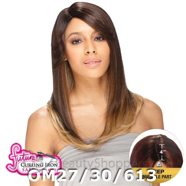 "FreeTress Equal Lace Front Wig - NELLY (4"" Deep Invisible Part Pre-Cut Lace)"
