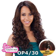 "FreeTress Equal Futura Hair Lace Front Wig - PHILLIE (4"" Deep Invisible Part Pre-Cut Lace)"
