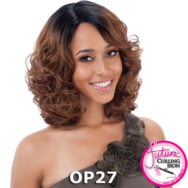 "FreeTress Equal Lace Deep Invisible ""L"" Part™ Lace Front Wig - REMI"