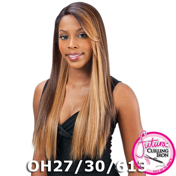 "FreeTress Equal Lace Deep Invisible ""L"" Part™ Lace Front Wig - SIMPLY"