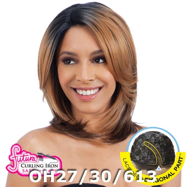 FreeTress Equal Hair Lace Deep Diagonal Part Lace Front Wig - SPRING BLOSSOM