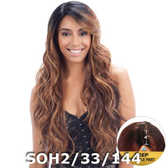 "FreeTress Equal Futura Hair Lace Front Wig - SUZIE (4"" Deep Invisible Part Lace)"