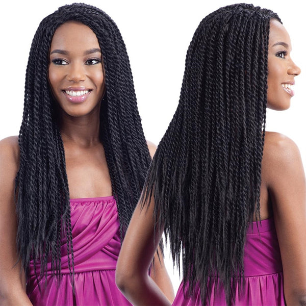 FreeTress Equal Braid Hair Lace Front Wig - HOT SINGLE TWIST