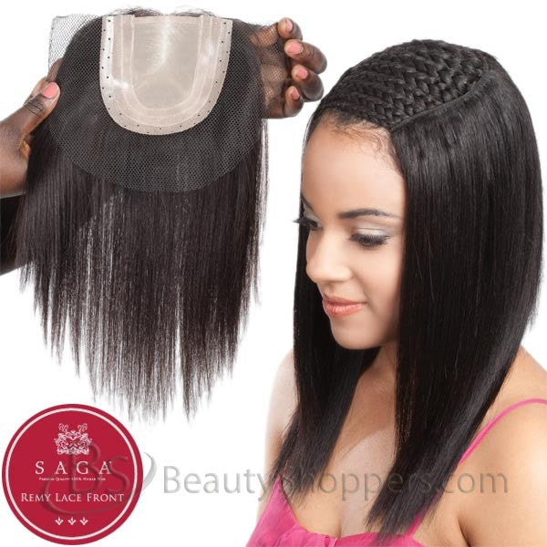 Saga Remy Human Hair Piece - FULL LACE CLOSURE