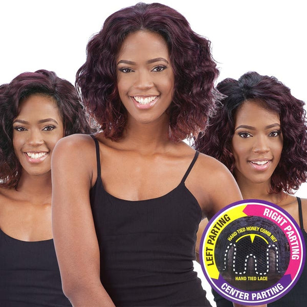 FreeTress Equal 3 Way Lace Part Front Lace Wig - CHANNING