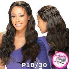 FreeTress Equal Synthetic Hair Lace Front Wig - BRAID HAIRLINE FROSTY