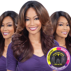 Equal 3 Way Lace Part Front Lace Wig - MARVEL