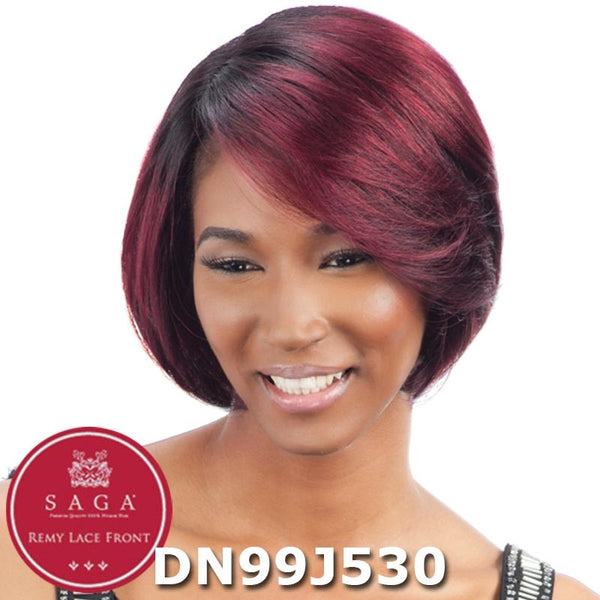 Saga Remy Human Hair Lace Front Wig - SELENE