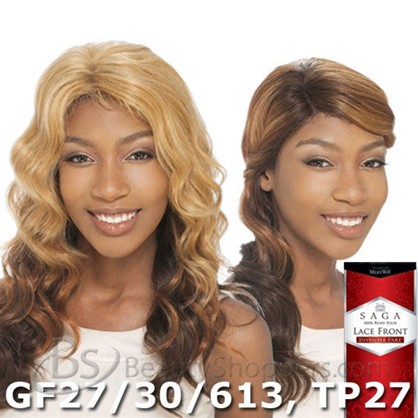 Saga Remy Human Hair Lace Front Wig - VENUS (Invisible Part)